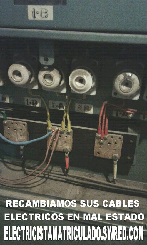 Electricista matriculado, electricidad domiciliaria, Celulaburo